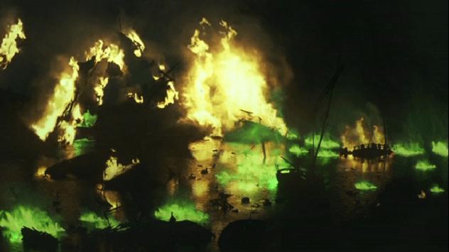 Fogovivo em BlackWaters Game of Thrones