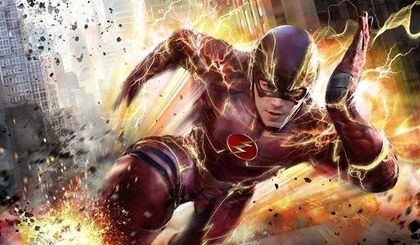 The Flash correndo