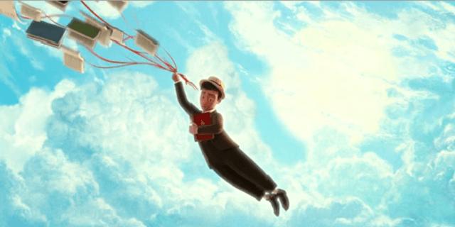Os Fantásticos Livros Voadores do Sr. Morris Lessmore