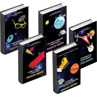 Livros Nerds Guia do Mochileiro das Galáxias