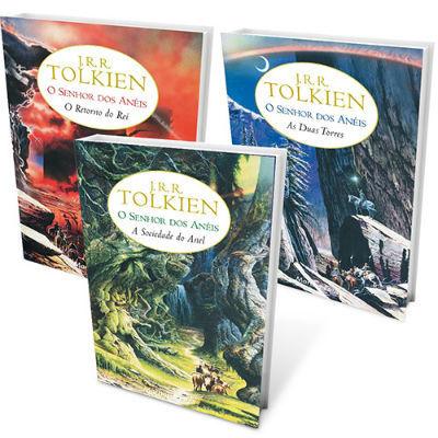 Livros Nerds Senhor dos Aneis