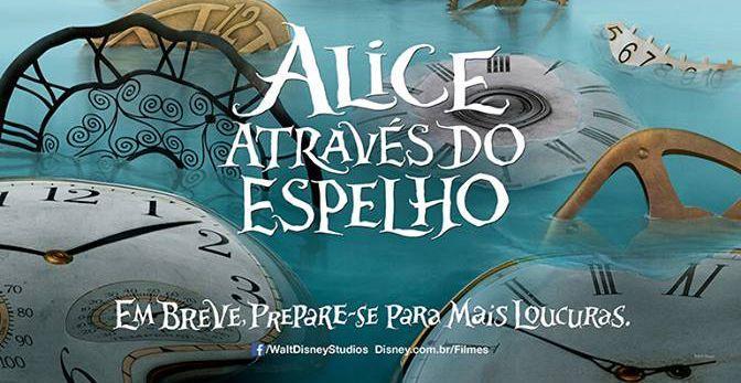 Alice Através do Espelho Trailer Legendado