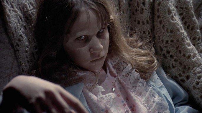 Cena do Filme de Terror O Exorcista