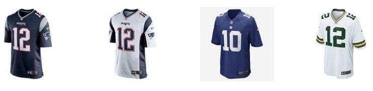 Camisas de futebol americano Nike
