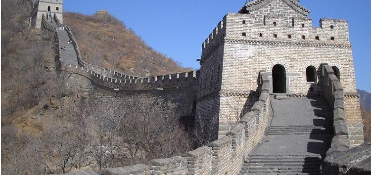 A Muralha da China pode ser vista do espaço
