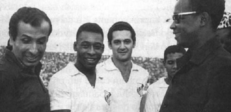 Pelé interrompeu uma guerra