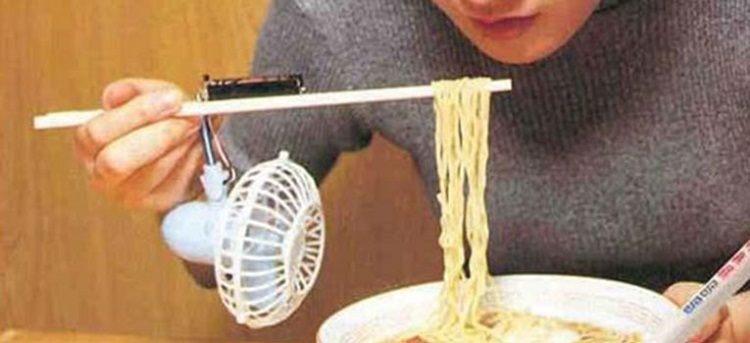 ventilador esfriador macarrão