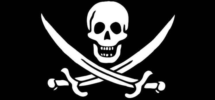 Piratas Malvados: bandeira pirata Calico Jack