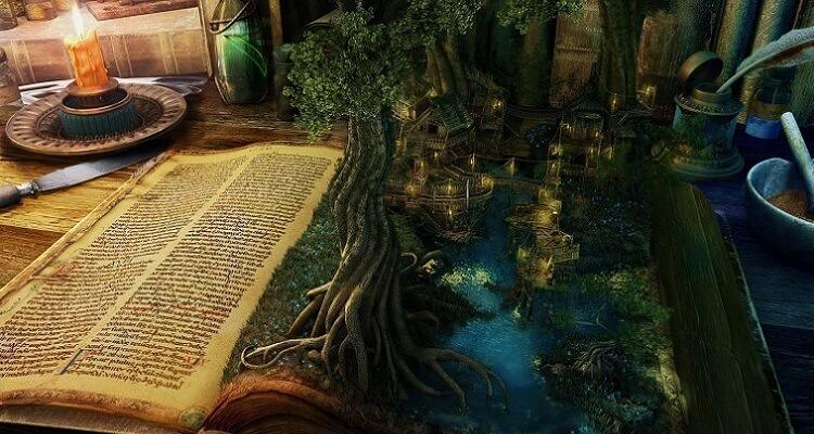 livros-fantasia-flores-saindo-livro