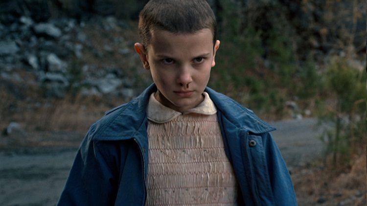 Millie Bobby Brown como Eleven