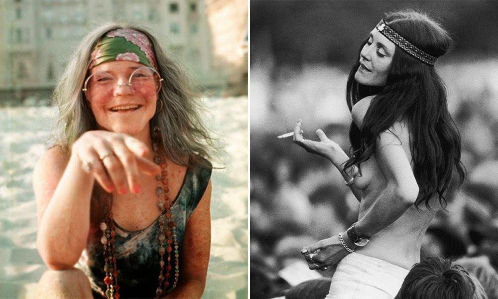 Fotos das mulheres de Woodstock