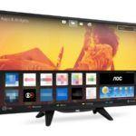 Linha de Smart TVs de 32″ e 43″ AOC tem bom custo-benefício
