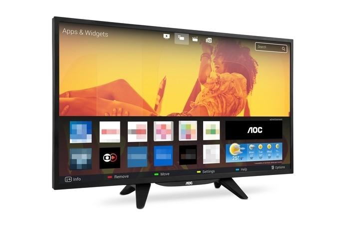 Linha de Smart TVs de 32 e 43 AOC tem bom custo benefício