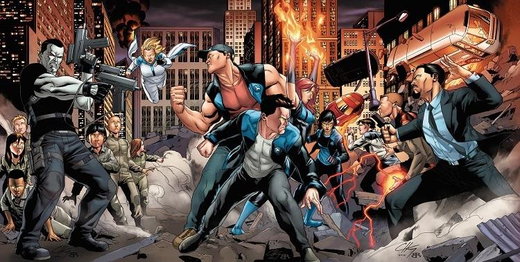 Social Comics traz quadrinhos inéditos da Valiant Entertainment para o Brasil