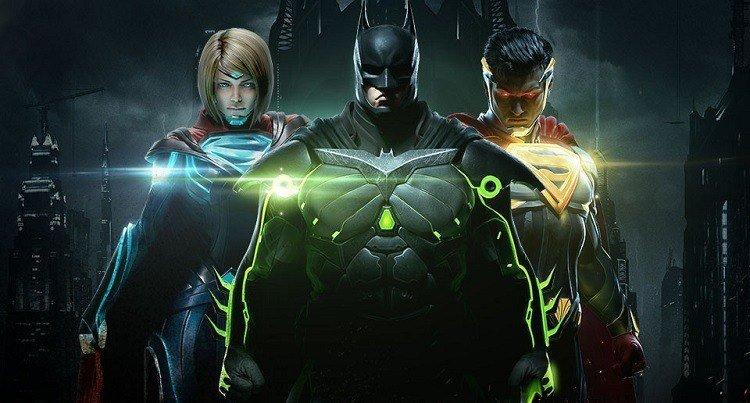 Injustice 2 Batman e Superman