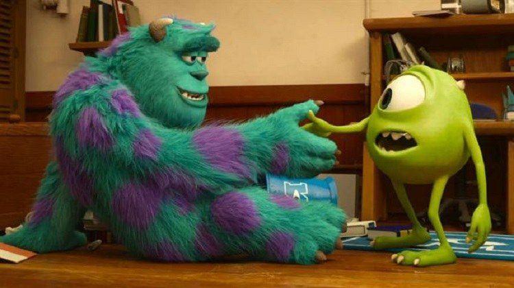 Filmes Disney Universidade Monstros