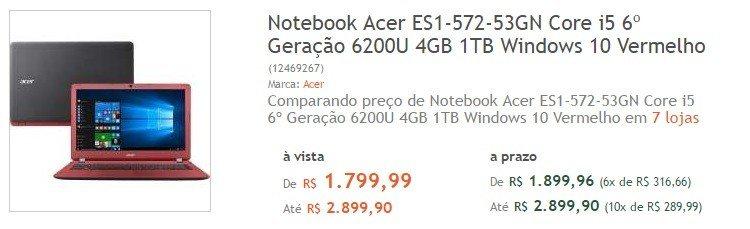 Como Comprar Notebook Barato na internet