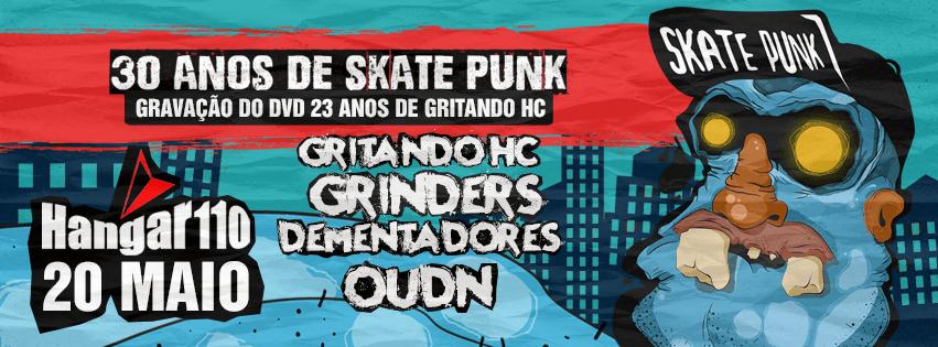 Ande de Skate e Destrua!   30 anos de Skate Punk no Brasil