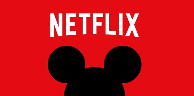 Disney irá retirar seus filmes e séries da Netflix!