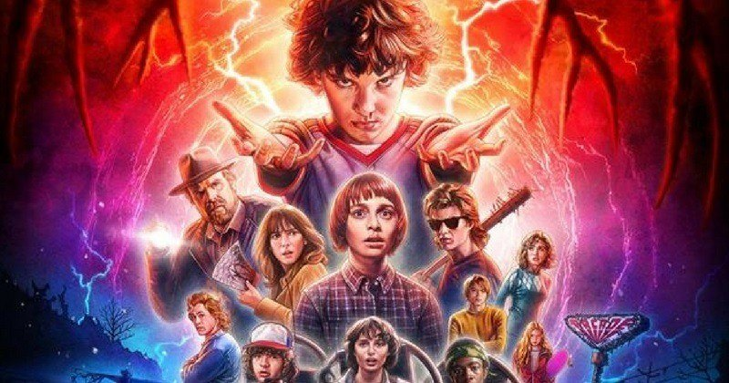 Stranger Things Cartaz 2ª Temporada