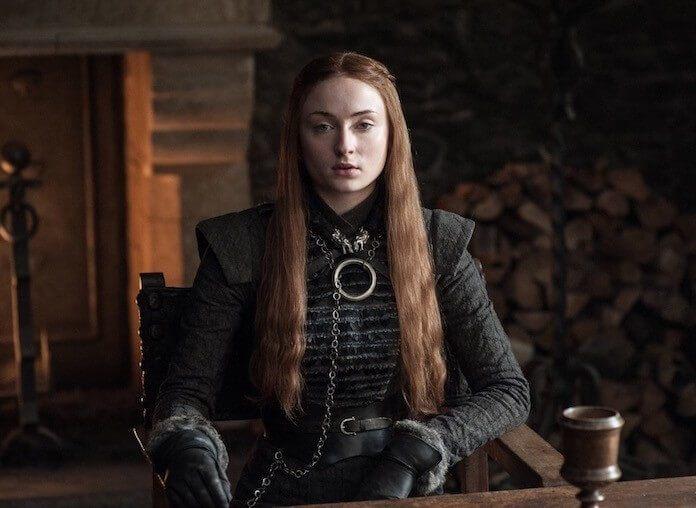 Sophia Turner como Lady Sansa em Game of Thrones