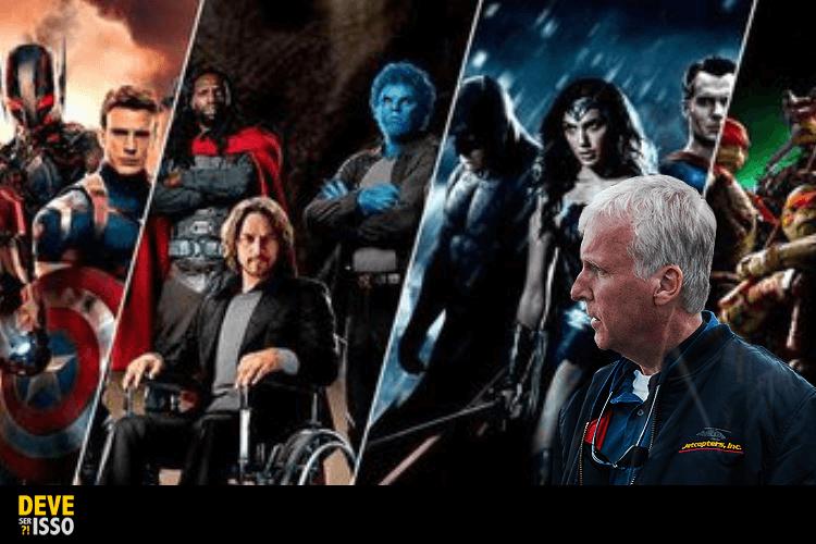 , Diretor de Avatar quer que o público enjoe de filmes de super-heróis!