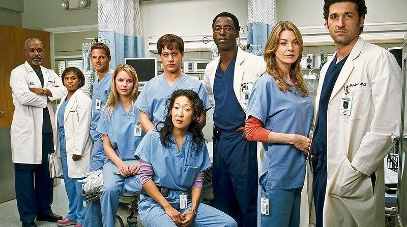Melhores Séries de Romance - Grey's Anatomy