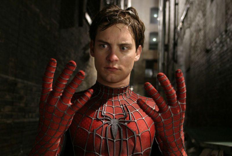 Cartaz do filme Homem-Aranha 2002 - O Filme