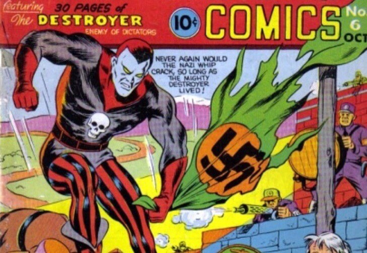 The DEstroyer o 1º personagem de Stan Lee