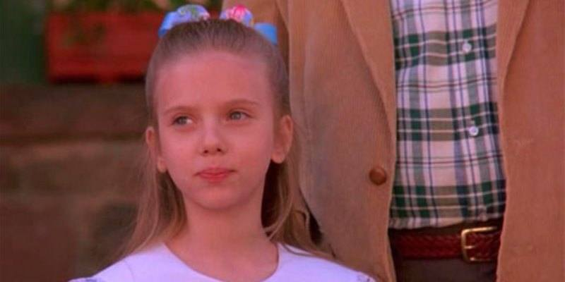 Scarlett Johansson Criança