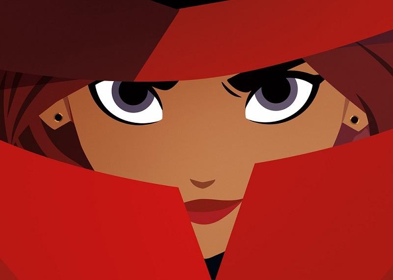 Poster da animação Carmen San Diego