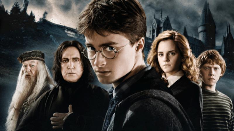 Cena do filme Harry Potter