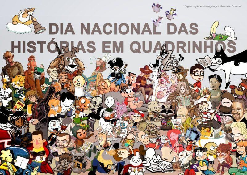 , 30/01 – Dia Nacional das Histórias em Quadrinhos