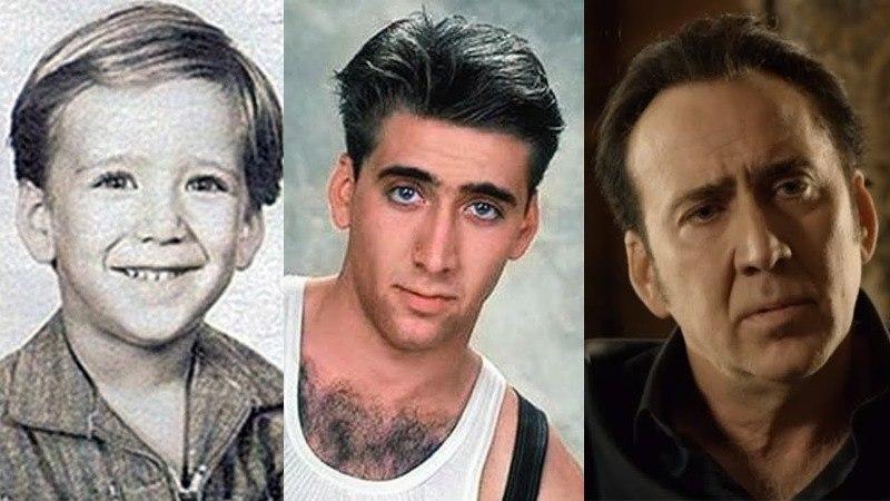 Nicolas Cage Criança/Jovem