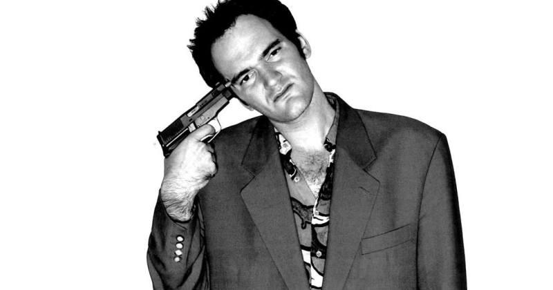 Quentin Tarantino Jovem