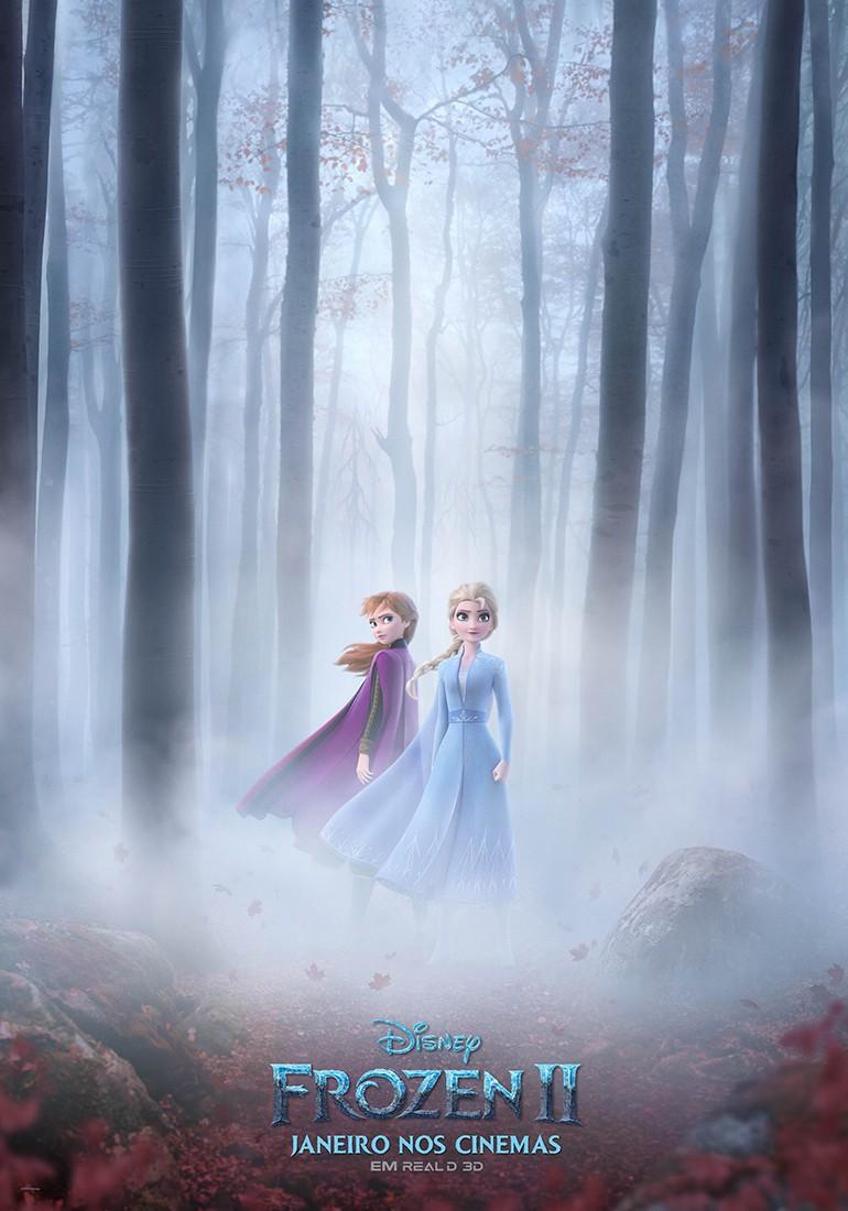 Poster Oficial Frozen 2