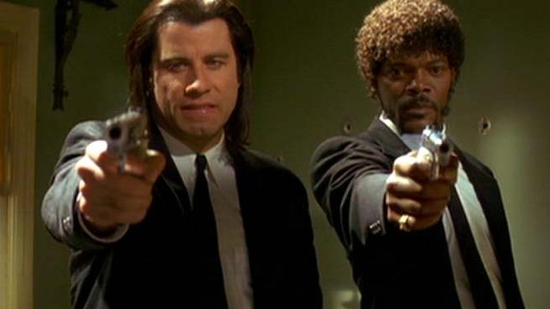 Cartaz do filme Pulp Fiction