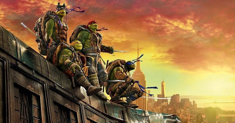 Tartarugas Ninja 2 Saindo das Sombras
