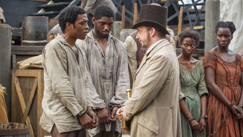 Cartaz do filme 12 Anos de Escravidão - O Filme