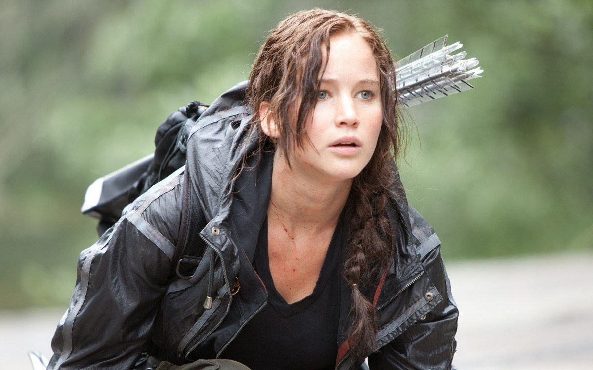 Jennifer Lawrence em Jogos Vorazes