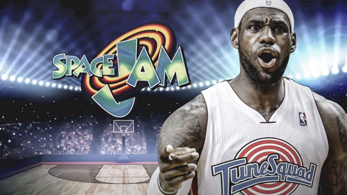 LeBron James em Space Jam 2