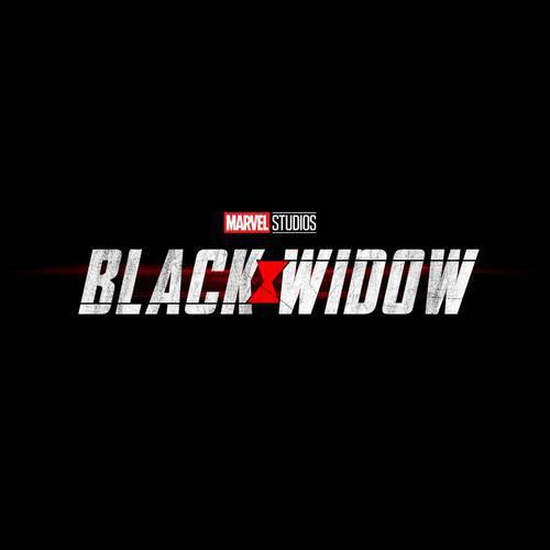 Logo do filme da Víuva Negra