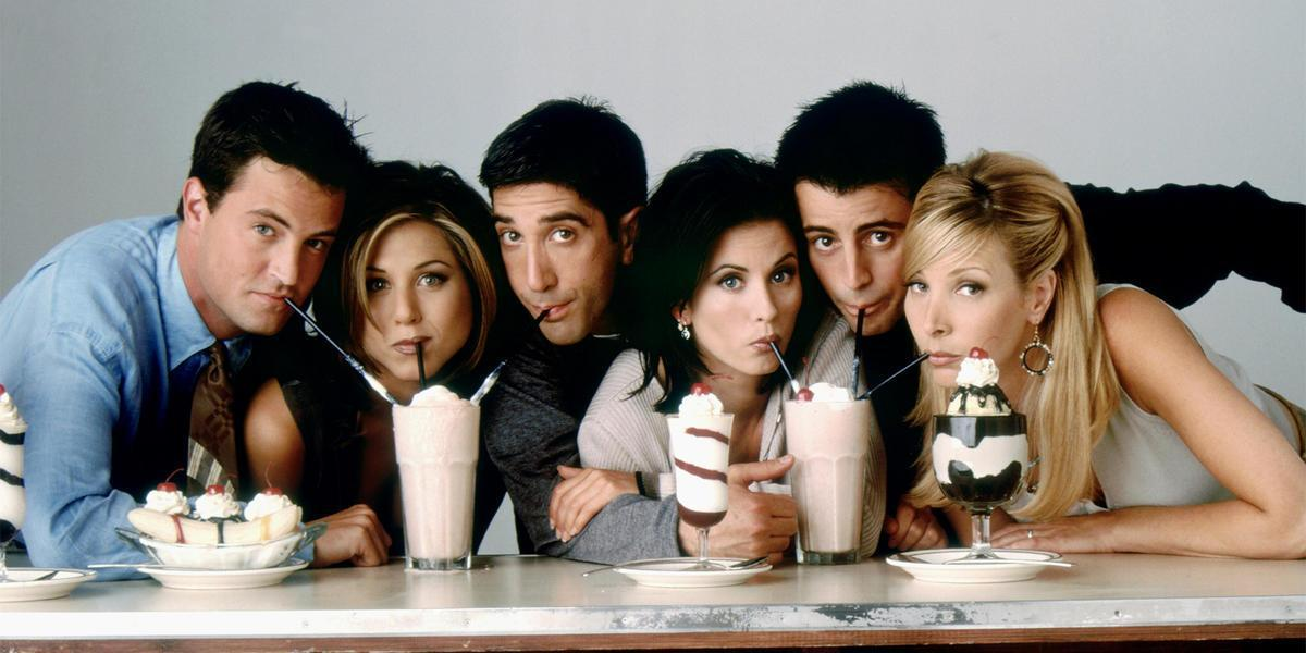 Elenco do seriado Friends