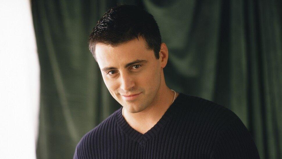 Matt LeBlanc na época de Friends
