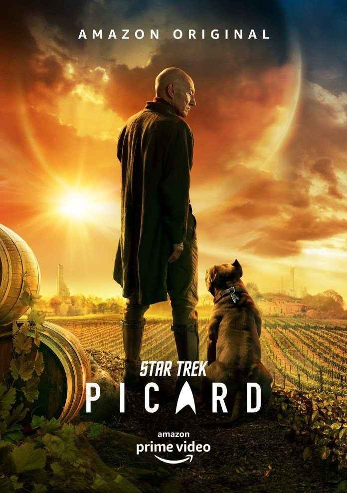 Poster oficial Star Trek: Picard