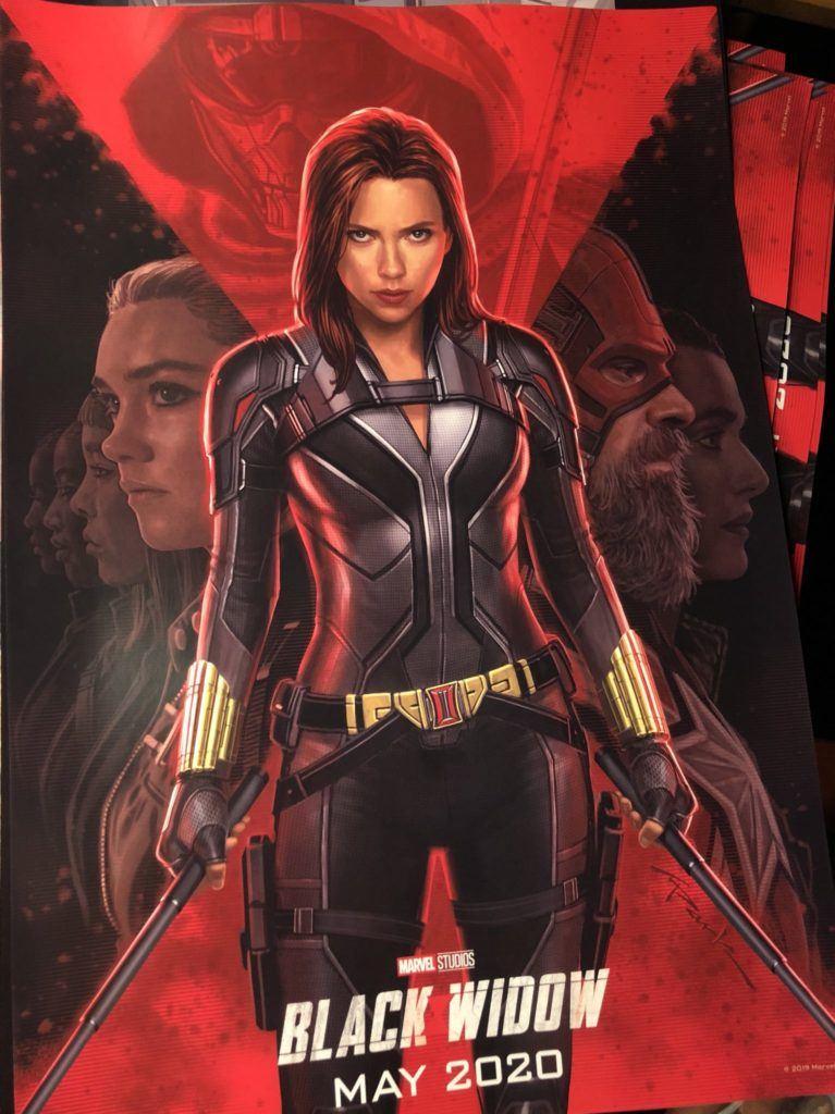 , Viúva Negra | Guardião Vermelho e Treinador são revelados em novo poster