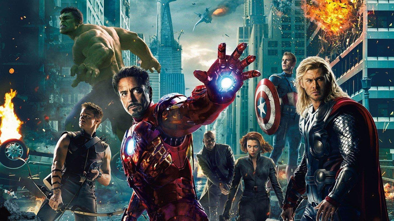 Cartaz do filme Os Vingadores - O Filme