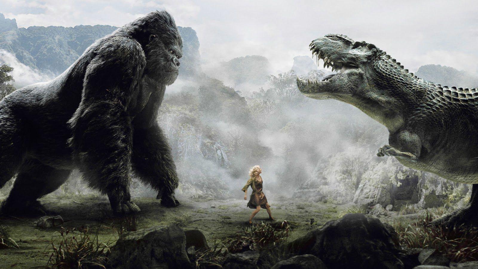 Cartaz do filme Kong: A Ilha Da Caveira - O Filme