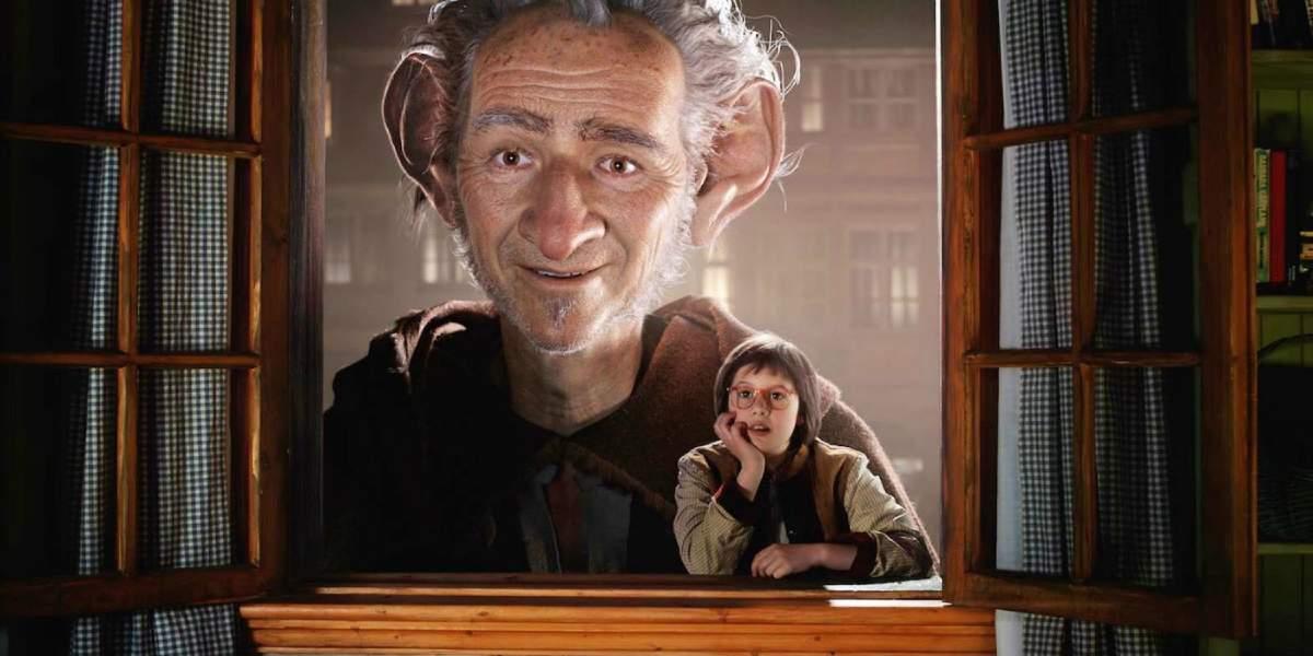 Cartaz do filme O Bom Gigante Amigo - O Filme