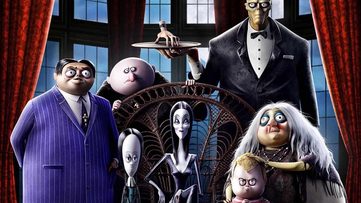 Cartaz do filme A Família Addams